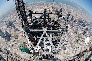 dubai's construction building