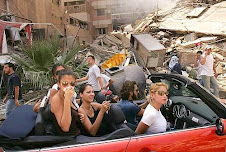 libano devastato da Israele