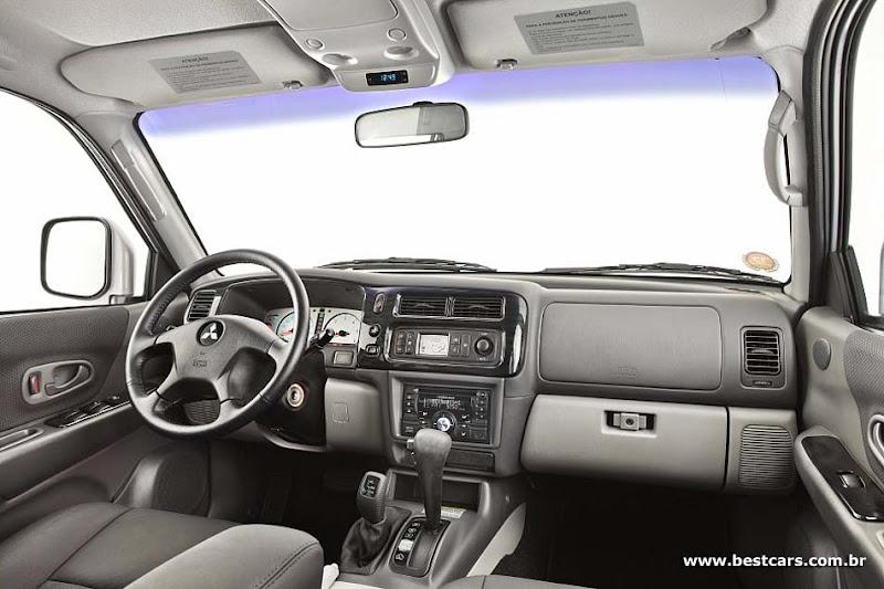 Mitsubishi Pajero Sport 2010 Interior View
