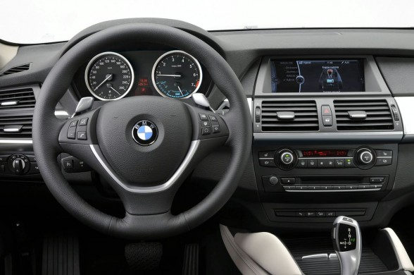 2010 BMW ActiveHybrid X6 Interior Car