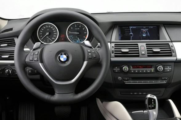 2010 BMW ActiveHybrid X6 Interior Car