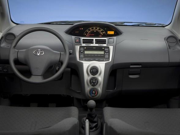 Toyota Yaris 3 Door Silver. 2009 Toyota Yaris Sedan Red