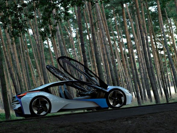 BMW Vision Efficient Dynamics Concept Information