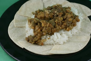 Indian Spiced Lentils with Chicken Slow Cooker Recipe - A ...