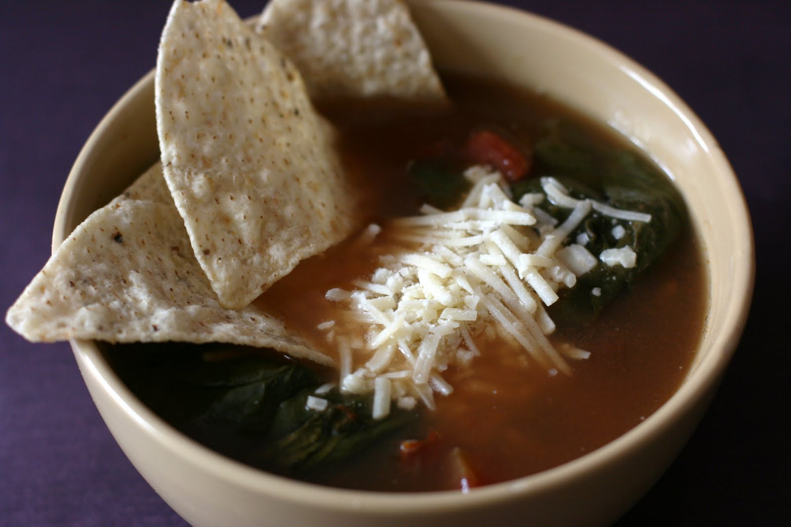 Year of Slow Cooking: Vegetarian Tortilla Soup Slow Cooker Recipe