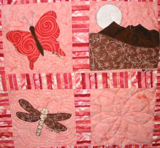 Friends & Family Baby Quilt, quilted by Angela Huffman