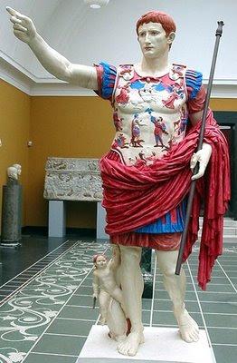 HISTORIA DEL ARTE: LA ESCULTURA GRIEGA O ALUCINANDO EN COLORES