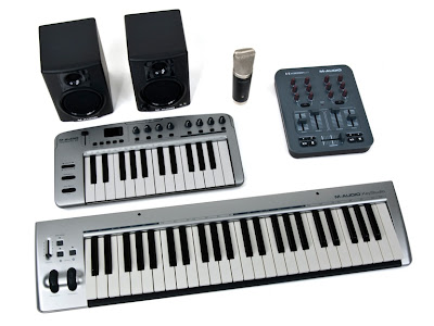 M-Audio Recording Studio Equipment
