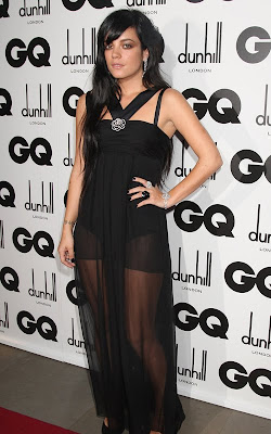 Hollywood actress at the GQ Men of the Year Awards