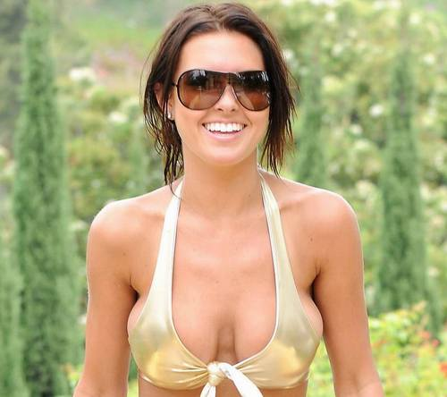 audrina patridge eyes. Audrina Patridge Bongo Fall