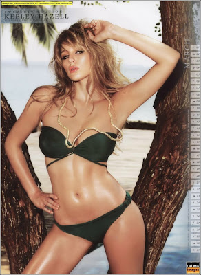 Sexy Keeley Hazell 2009 Bikini Calendar