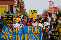 Immigrant Housekeepers Continue Fight for Back Wages at Woodfin Hotel