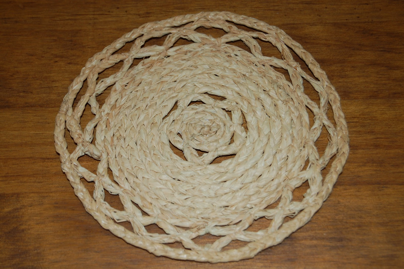 El rinc n de las miniaturas alfombra de rafia - Alfombra rafia ...