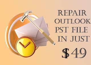 repair & Fix outlook pst file