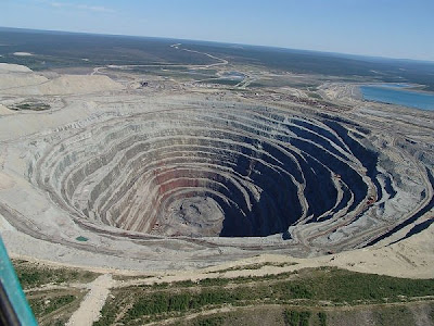 Udachnaya Diamond Mine, Russia