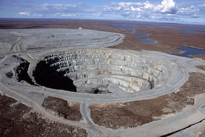 Ekati Diamond Mine, Canada