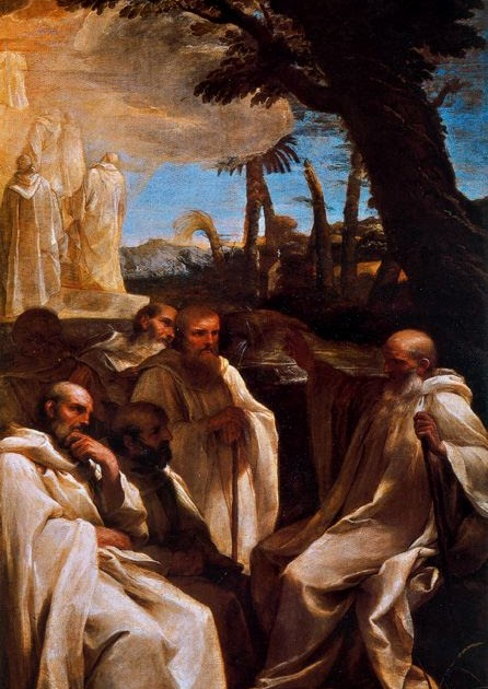 IDLE SPECULATIONS: The Vision of St Romuald