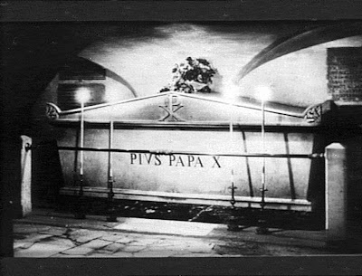 Old Tomb of Pope St Pius X