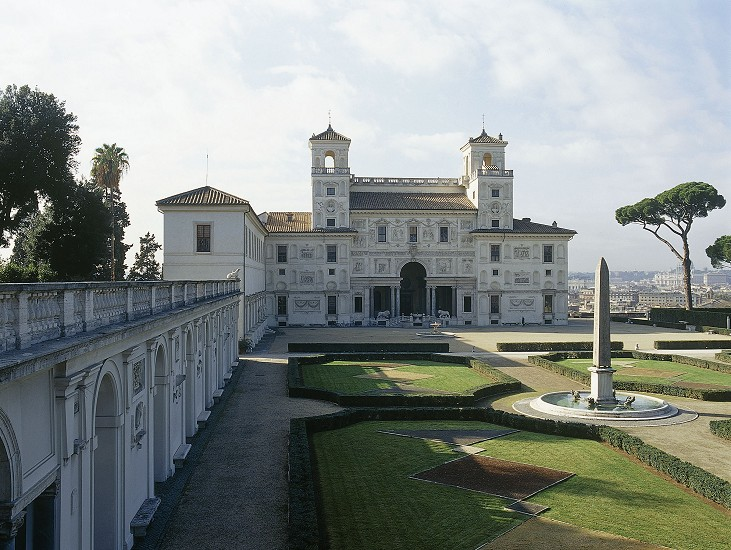 Idle speculations the villa medici rome - Villa medicis rome chambres ...