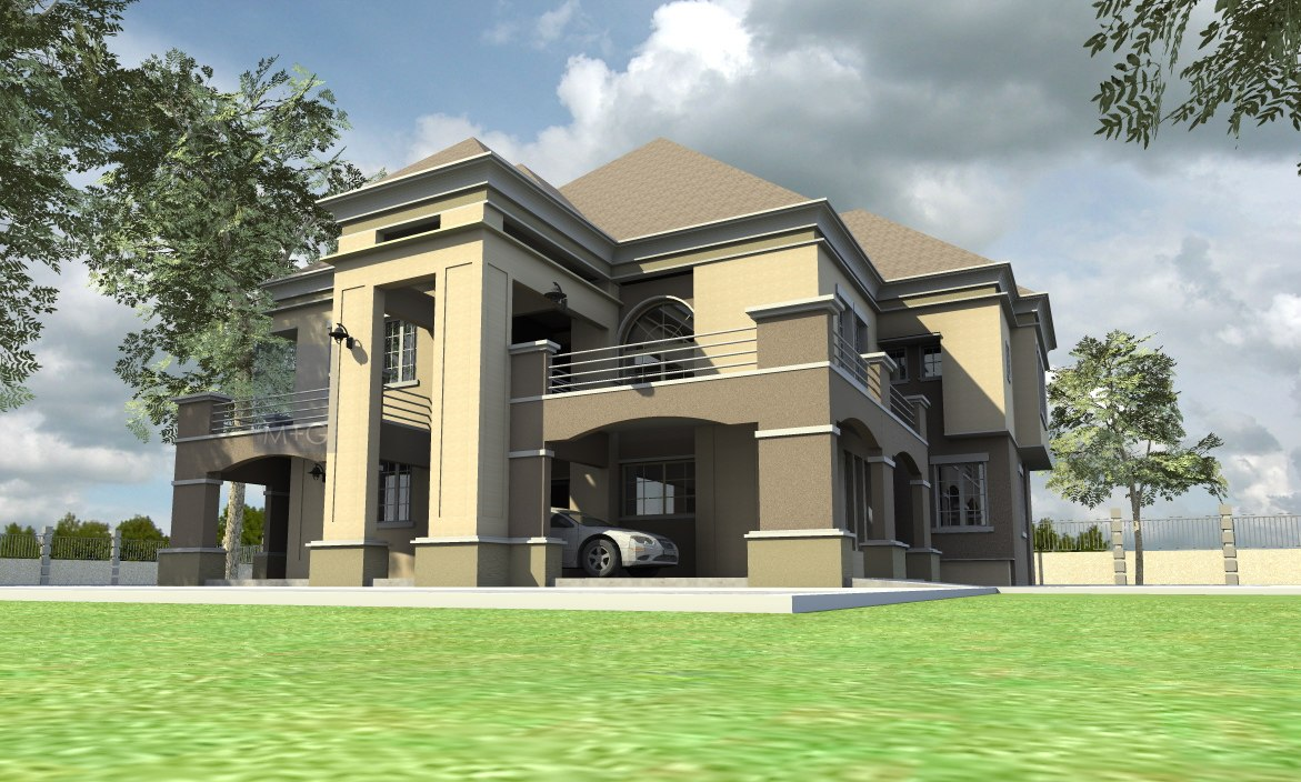 Contemporary nigerian residential architecture for Modern residential house plans