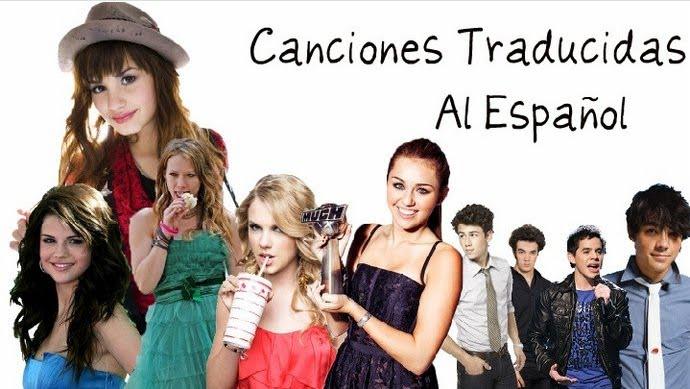 Canciones Traducidas En Español