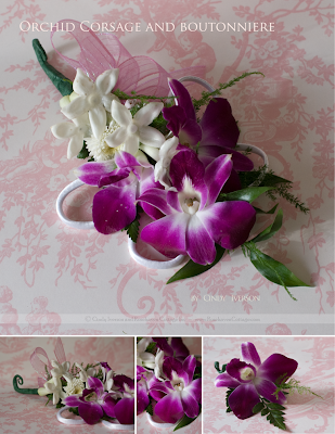 Orchid Flower Picture on Rosehaven Cottage  Week Seven  Corsages And Boutonnieres