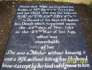 The Mystery Tombstone of Betty Stiven