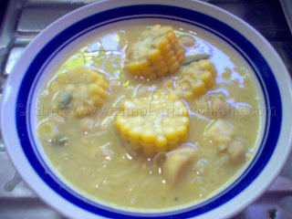 Corn Soup (Trini Style), corn soup recipe