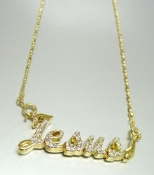 Personalized Necklace up to 5 letters.  Additional letters $7.99 ea .