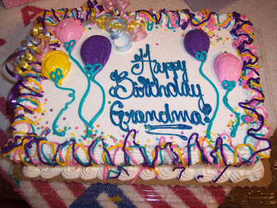 Happy Birthday, Grandma! We love you! Here are a few pictures from the