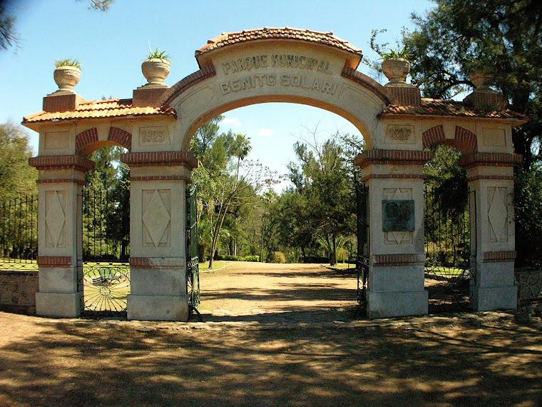 Parque Solari... y el tiempo