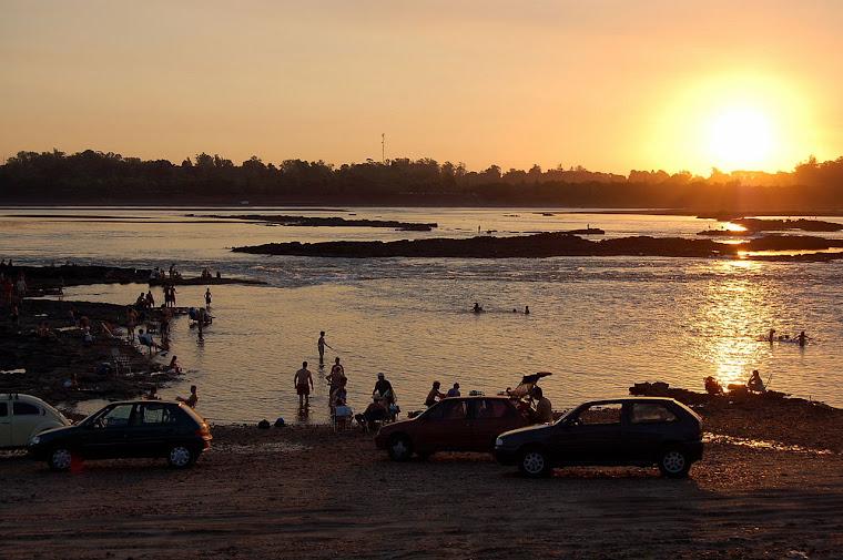 Río Uruguay, Salto Chico, Ayuí...