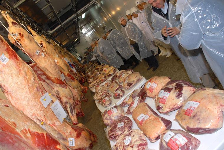 Frigoríficos y carne calificada