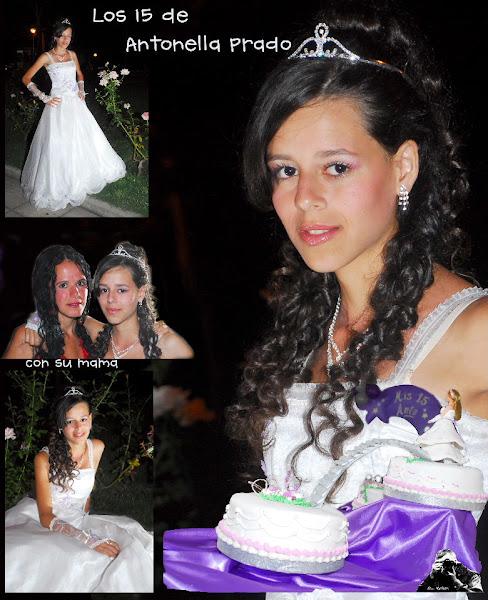 Antonella y su fiesta...