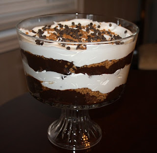 Scrapping Outside The Lines: Yummy Fudgy Brownie Trifle!