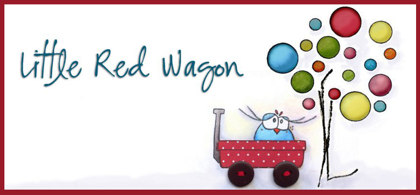 I Love Little Red Wagon