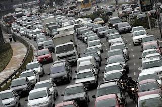 O problema do trânsito.
