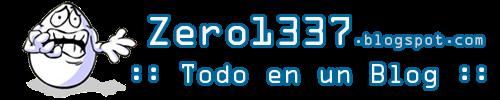 Zero 1337 - Todo en un blog