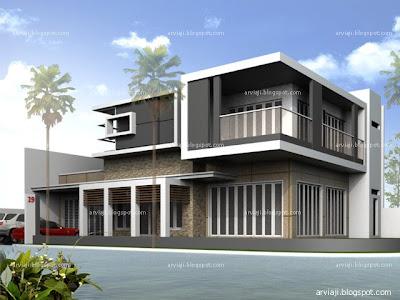 gambar teras rumah on arviaji studio - 031.71506683 - 0856 4971 5208: Rumah Minimalis