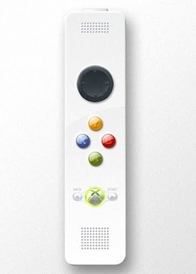 Mock-up of Xbox 360 Motion Controller
