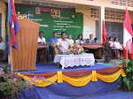 Bicycle Ceremony Stage at CWF-Kep School