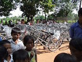 75 Bicyles Distributed in Rural Cambodia