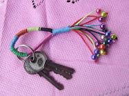 Woven Key Chain Design