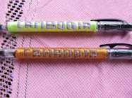 Beautiful Woven Pens