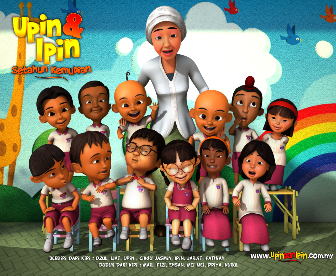 UPIN, IPIN DAN KAWAN-KAWAN (TV Serial Series)