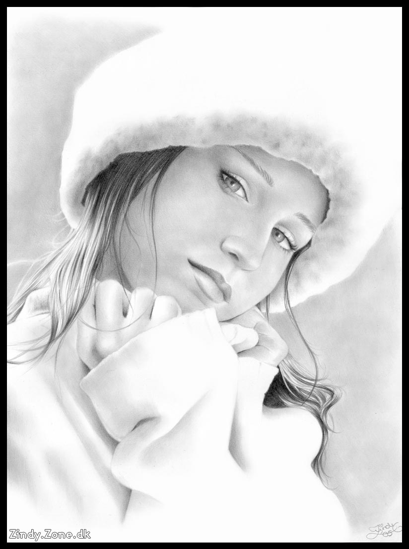 Fashion and Art Trend: Pencil Drawing