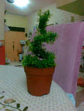 SWIRL TOPIARY...AVAILABLE IN PATTERN '8' AND 'S' TOPIARY