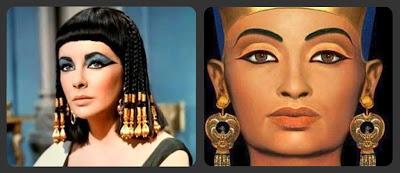 Mujeres Egipcias Maquillajes