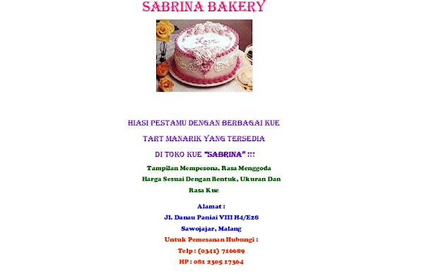 sabrina bakery