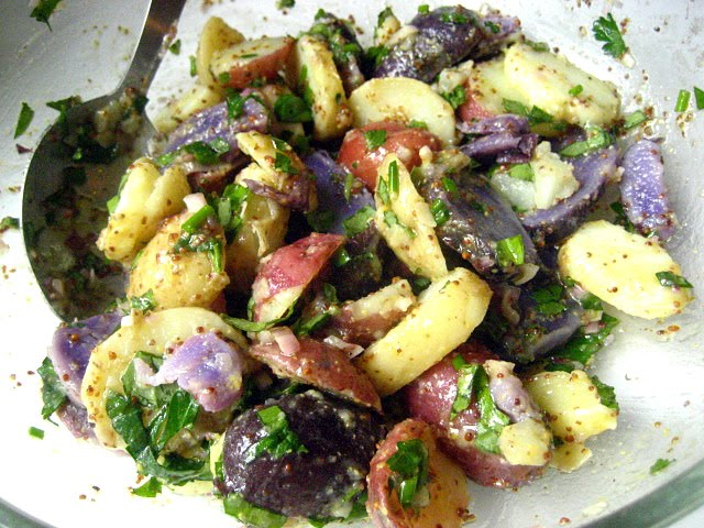 ... purple potato salad photo a purple potato salad purple potato salad